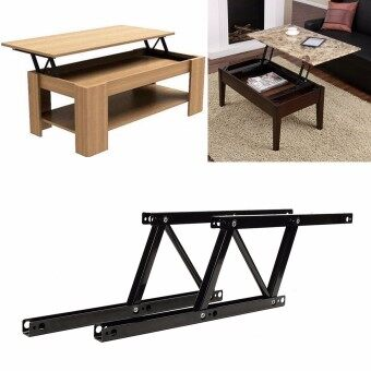 Harga 1pair Lift Up Top Coffee Table Lifting Frame Mechanism Spring Hinge Hardware NEW