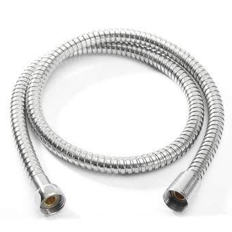 Harga 1m/1.5m/ 2m Bathroom Flexible Shower 1/2' Water Hose Pipe Stainless Steel Chrome 1m