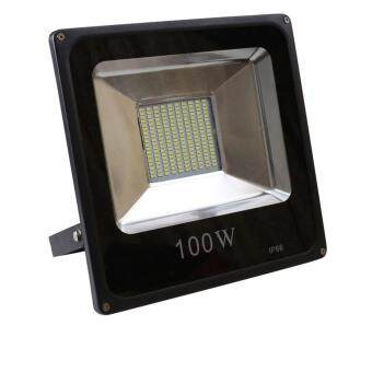 Harga LED Flood Light Waterproof IP65 Outdoor Spotlight - 100W (Cool White)