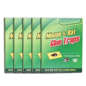 Harga Jiaing Stick-a-Pest Glue Board Traps For Mouse Mouse stick, Insects and Snakes Rat/Mouse ,8 Pcs