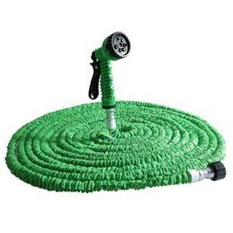 Harga Ai Home 100FT Expandable Spray Gun Garden Hose Flexible Pipe (Green)