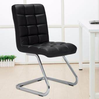 Harga Full Leather Designed Stylish Dining Chair - Full Assembly