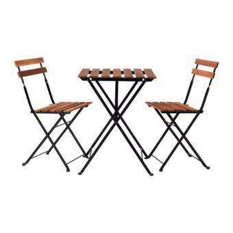 Harga IKEA Outdoor Dining Set Fold able - 2 Chairs and Table