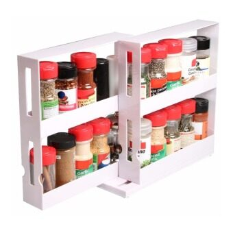 Harga Swivel Store Space Saving Spice Organiser