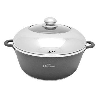 Harga Nice Dessini Non-Stick Soup Pot - Large (28cm)