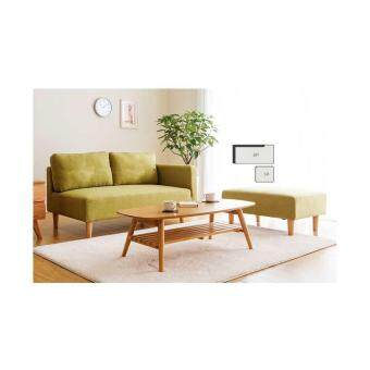 Harga Home and Living : Descanso Sofa 123 Design - 2 Seater L Shape with Stool