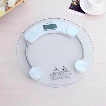 Harga Round Digital Body Scale Bathroom Scale Digital Body Weighting Machine