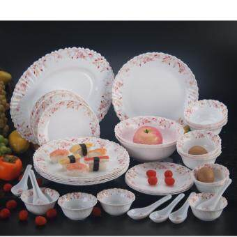 Harga 33-C DINNER SET OPAL GLASS FRANCE 20696