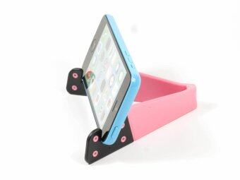Harga Okdeals Foldable Mobile Stand Holder for Smartphone and Tablet PC Pink