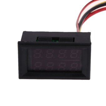 Harga LED Panel Digital Amp Volt Gauge Meter
