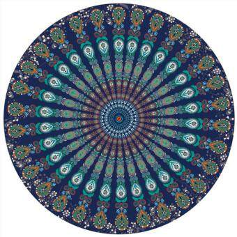 Harga Jeebel Indian Mandala Round Roundie Beach Throw Tapestry Hippy Boho Gypsy Cotton Tablecloth Beach Towel Round Yoga Mat