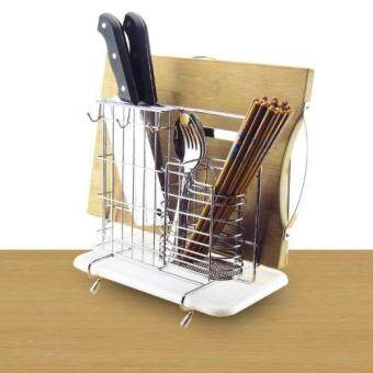 Harga Multi-purpose Kitchen Tools Holder / Knives / Cutting Board Rack