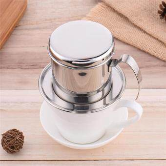 Harga High quality Stainless Steel Coffee tea kettle Maker Drip Coffee Make Coffee Filter Percolators cup