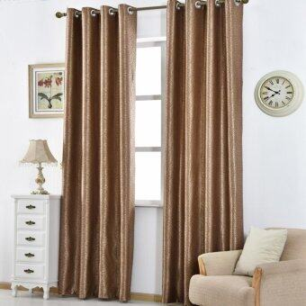 Harga 1 PCS 150X270 Blackout drapes living hotel ready curtain