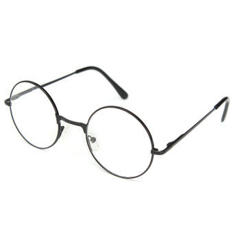 Harga Reading glasses reading aid Round Unisex Nerd cult Hornbrille metal +2.5