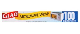 Harga Glad Microwave Wrap 100 Square Feet