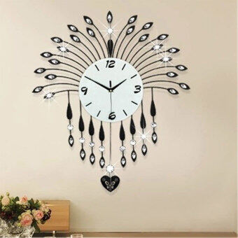 Harga Luxurious Wall Clocks Living Room Decorative Modern Style S231 -
