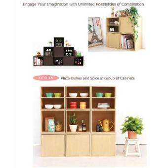 Harga Local Made High Quality DIY Creative Design Storage Cabinet Cube
