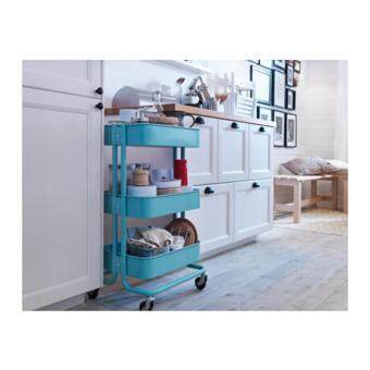 Harga IKEA RASKOG Kitchen / Shop Trolley - Turquoise