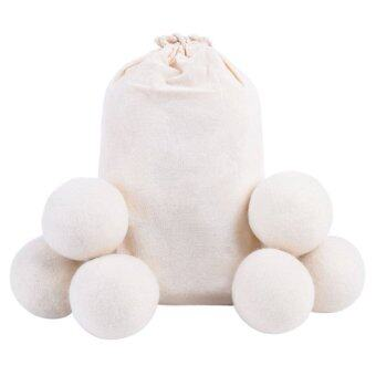 Harga Wool Dryer Balls All Natural Organic Fabric Softner (6 Pack)