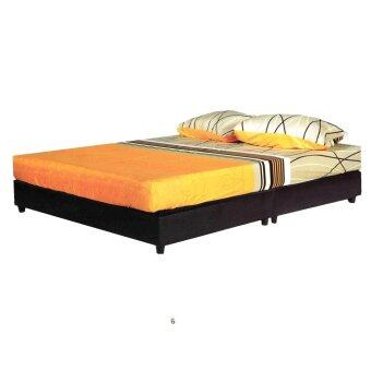 Harga NICO PU HEAVY DUTY DIVAN BED QUEEN CAPPUCINO