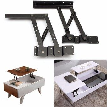Harga 2Pcs Lift Up Top Coffee Table Lifting Frame Mechanism Spring Hinge Hardware