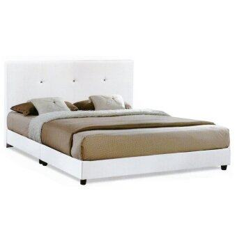 Harga Casa Nice Beige White Queen Divan Bed Frame Only
