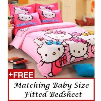 Harga Hello Kitty Quilt Cover - Happy Kitty