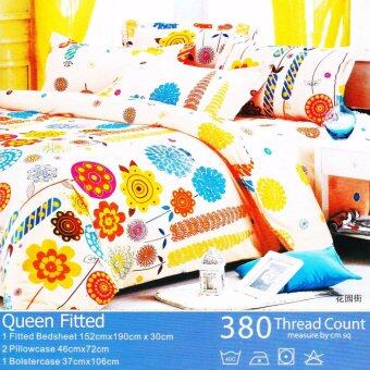 Harga MRS DIY BEDSHEET - QUEEN FITTED (M21)