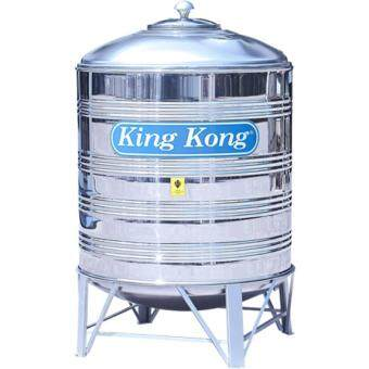 Harga King Kong KR400 1800L/400G Vertical Round Bottom with Stand Stainless Steel Water Tank