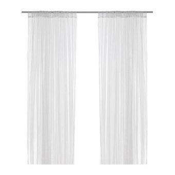 Harga IKEA Net Curtains White (2 PCS)