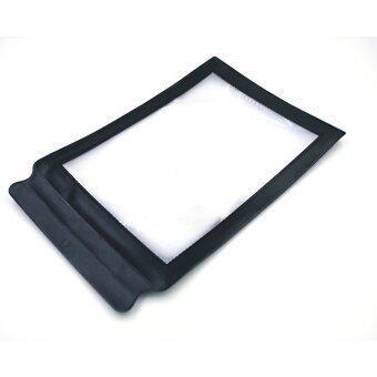 Harga A4 Full Page Giant Large Assisted Reading Magnifying Glass Black