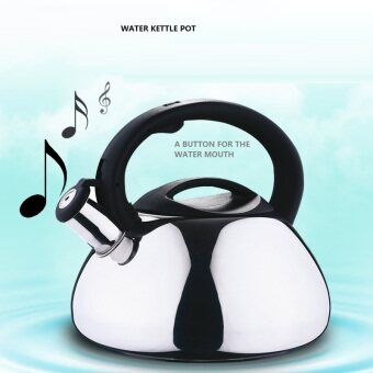 Harga whistling kettle stainless steel water pot 3L boiling kettle