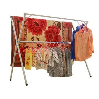 Harga AoZhi DG16 Convenient Foldable Clothes Drying Racks - 1.6m