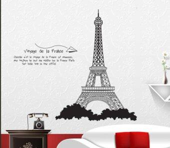 Harga Walplus France Eiffel Tower Wall Stickers