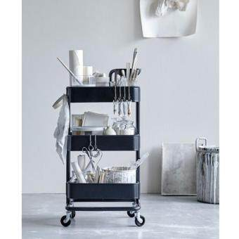 Harga IKEA RASKOG Kitchen / Shop Trolley - Black
