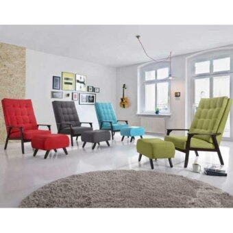 Harga SKL3650 GREEN SOFA / RELAX CHAIR W/ STOOL/RESTING CHAIR (GREEN)
