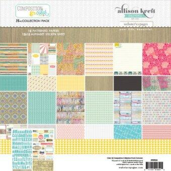 Harga Webster's Pages - Composition and Color Collection - 12 x 12 Collection Pack