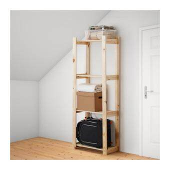 Harga IKEA Wood Shelving Unit Indoor