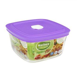 Harga Marinex 2L Square Bowl with Hot Vapour Cover (Purple)