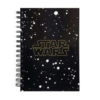 Harga Disney Star Wars A5 100's Hard Cover Notebook - Star