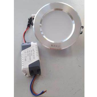 Harga CY 3W Downlight round warm white