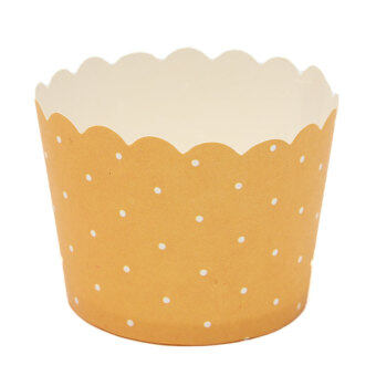 Harga 50Pcs Wedding Party Cupcake Cases Paper Cake Cup Liners Wrapper Muffin Mug Baking Orange