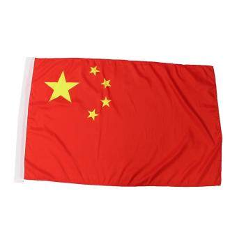 Harga China Flag Five-star Red Flag The People's Republic of China Banner 3Ft x 5Ft