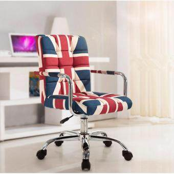 Harga Fully Assembly Stylish Comfort & Ergonomic Swivel/office Chair - D1