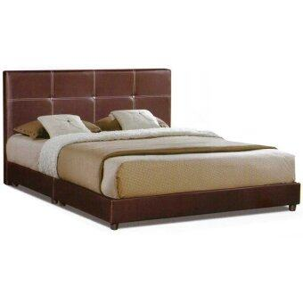 Harga Casa Nice Dark Brown Queen Divan Bed Frame Only