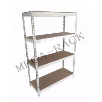Harga Boltless Rack with Fiberboard 300mm x 900mm-Beige Colour