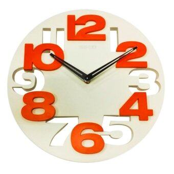 Harga Meidi Meidi Wall Clock (MD8808) WHITE