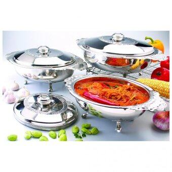 Harga STAINLESS STEEL CURRY DOLPHIN DISH 6 PC SET