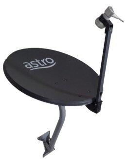 Harga ASTRO DISH BYOND PVR SINGLE DUAL QUAD PIRING ASTRO 65cm - SINGLE LNB